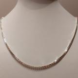 Venezianer Halskette 925/-Silber Länge 50cm Stärke 2mm